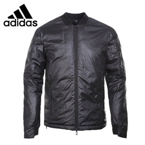 Original New Arrival  Adidas NUVIC BOMBER Men's Down coat Hiking Down Sportswear