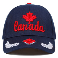 2019 New CANADA embroidery Basebal Cap Outdoor Couple fashionl caps adjustable hip hop hats cotton sport caps hat