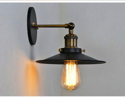 American style bedside antique wall lamp single-head living room lights vintage fashion bar lamps lighting stairs E27 85-260V