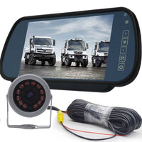 NuoYuncloud car monitor 9 v - 24 v van reversing image high-definition infrared night vision bus astern car monitor