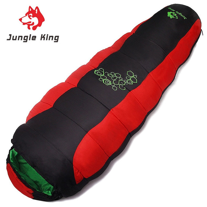 Jungle King 2017 thickening fill four holes cotton sleeping bags outdoor camping