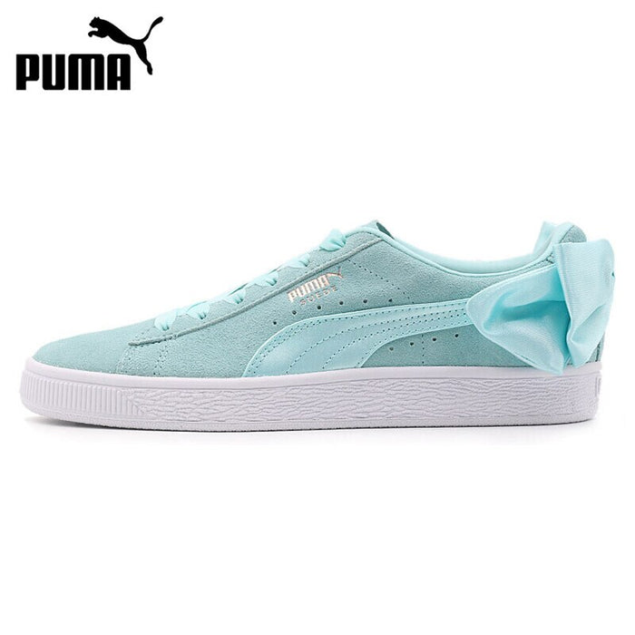 Original New Arrival PUMA Suede Bow Wns Women's Skateboarding Shoes Sneakers
