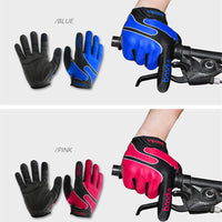 New Arrival Bicycle Gloves Full Finger Lycra Windproof Outdoor Sports Gloves Men Women Winter Gloves Guantes Running Gloves