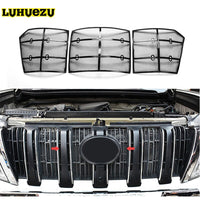 2014 2015 2016 2017 Car Insect Screening Mesh Front Grille Insert Net For Toyota Land Cruiser Prado 150 FJ150 Accessories