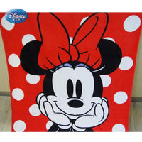 Disney Cartoon Red Minnie Mickey Mouse Frozen  Bath/Pool/Beach Towel Super Soft Absorbent 100% Cotton Swimming Towel 75x150cm