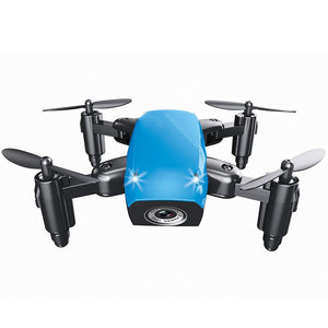 rc Helicopter Mini Drone With Camera Foldable RC Quadcopter 0.3mp HD four-axis aircraft wifi Altitude Hold  toys for gift
