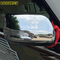 Chrome Rear-view Side Mirror Cover Trims For Toyota Land Cruiser 200 LC200 2012 2013 2014 2015 Accessories