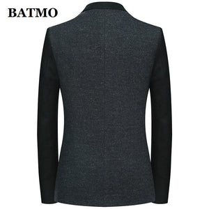Batmo 2019 new arrival high quality 85% wool casual blazer men,men's suits jackets ,casual jackets men 108-5