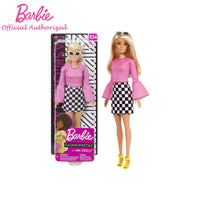 Barbie Fashionistas Dolls Original with Blonde Harie Dress Up Toy For Birthday Gift Barbie Boneca New Arrival FXL44
