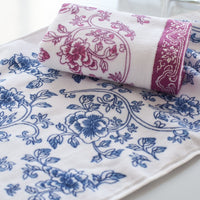 34 x75cm pattern of blue and white porcelain 100g of 100% cotton towel Family Towels bathroom wholesale