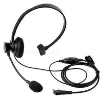 XQF 2PIN VOX PTT Mic Headset for BAOFENG UV-5R PUXING KENWOOD WOUXUN Walkie Talkie
