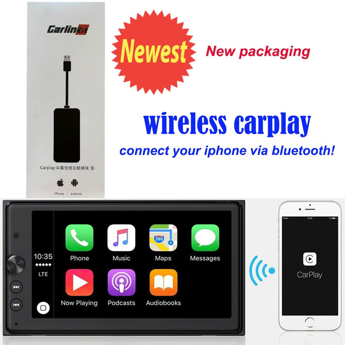 wireless CarPlay Smart Link USB Apple CarPlay Dongle for Android Navigation Player system Stick