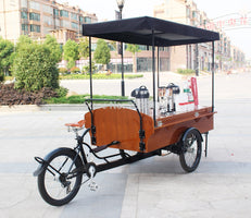 Retro Coffee Bike For Sale,coffee tricycle electric cargo bike