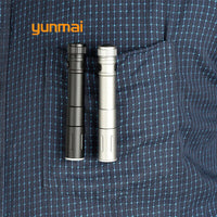 2019 Mini LED Flashlight ZOOM 7W LIGHT Q5 2000LM Waterproof Lanterna LED Zoomable Torch AAA Battery Powerful Led For Hunting J29