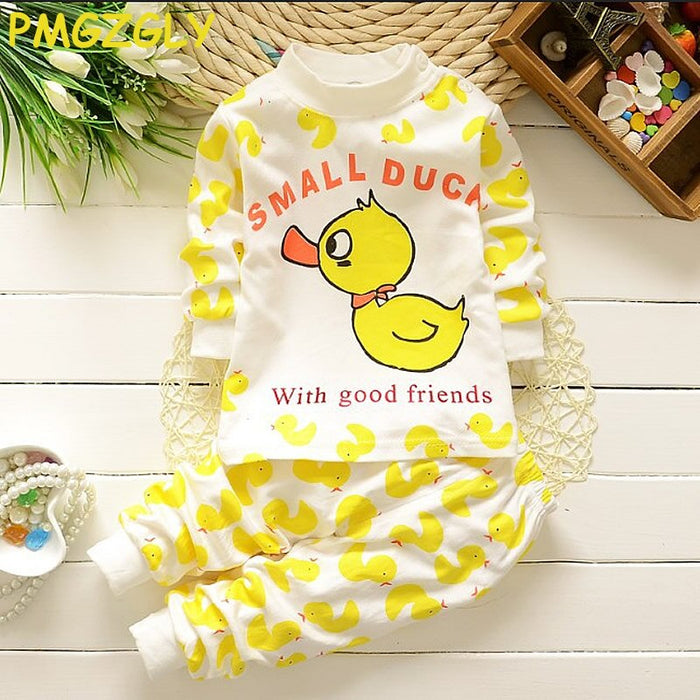 New Children Autumn Clothing full Sleeper Baby Underwear Toddler Cotton