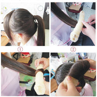 2 Pcs/lot hair tool simple style easy use Braiders Curling hair rollers for Women Ladies Magic Style Hair Styling Tools