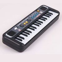 Multifunctional Mini Electronic Piano With Microphone Abs Children Portable 37 Keys Digital Music Electone Keyboard Gi