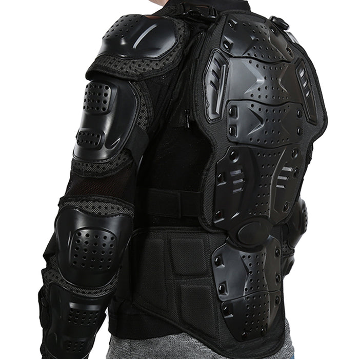 Full Body Motorcycle Armor Jacket Motocross Armor Motorcycle Gear Chest Protective Shoulder