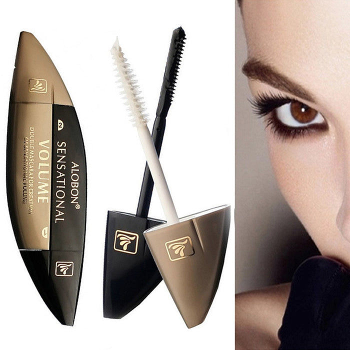 ALOBON 4D Fiber Rimel Colossal Mascara Volume Waterproof 4d Fiber Lash Mascara Natural
