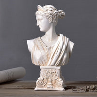 Nordic Resin Character Sculpture Venus Ornament Retro Carving Goddess Statues Decoration