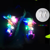 Sneaker Accessories Party Skating Charming LED Flash Light Up Glow Shoelaces Shoe Laces Shoestrings