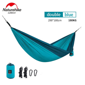 NatureHike Ultralight Hammock Outdoor Camping Hunting Hammock Portable Double person