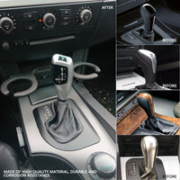 Auto Car Manual Gear Shift Knob Stick LED Shift Lever LHD Automatic Gear Shift Knob Shifter Lever for BMW E46 E60 E61 E63 E64