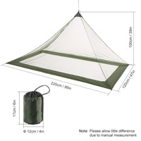 Lixada Outdoor Camping Tent Ultralight Mosquito Net Tent Bugs Bee Repellent Mesh Net Insect Mesh Guard Summer Outdoor Tent