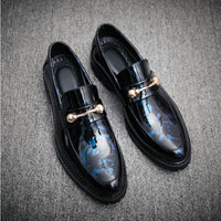 Men Driving Moccasins Comfortable Slip on Fashion Shoes Men Casual shoes breathable Leather