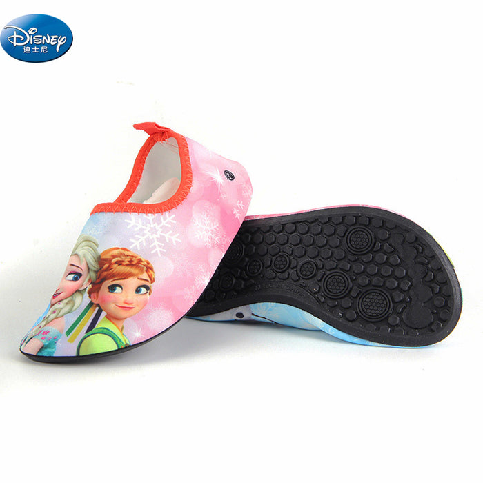 frozen elsa and anna Snow Queen Drifting anti-skid shoes girls  cartoon Quick-drying breathable