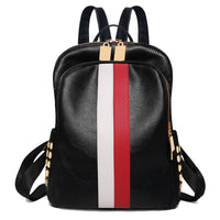 Luxury Brand Women Travel Backpack High Quality PU Leather School Backpack Pretty Style Girls