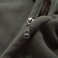 Mens Softshell Fleece Casual Jackets Men Warm Sweatshirt Thermal Coats Solid Thickened Brand Clothing