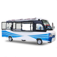 KN-LSZB01 bus electric food ice cream trucks food cart food kiosk food trailer mobile for sale