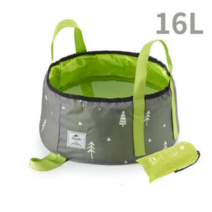 NatureHike Portable Outdoor Travel Folding Water Bucket Wash Basin For Camping