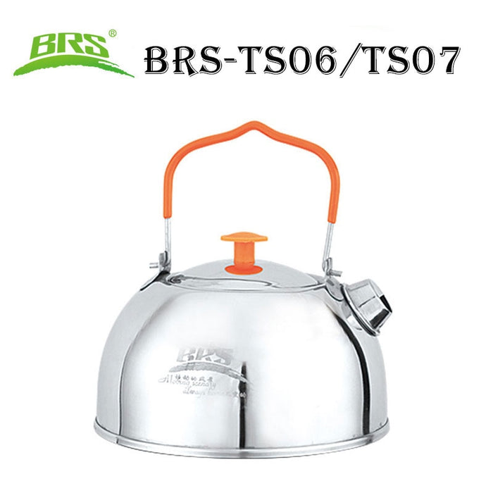 BRS-TS06/BRS-TS07 Stainless Steel Tea Pot Camping Kettle  Water Kettle  Cookware pot