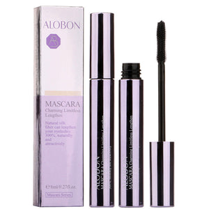 ALOBON Natural 4D Silk Fiber Lash Mascara Waterproof 3d Rimel lengthening Mascara Volume For Thick Curling Eyelashes Extension