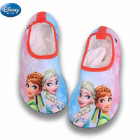 frozen elsa and anna Snow Queen Drifting anti-skid shoes girls  cartoon Quick-drying breathable shoes