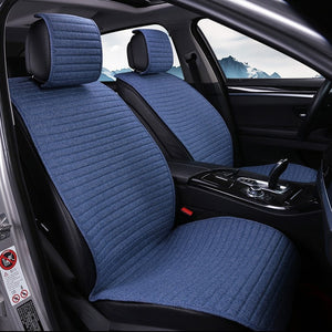 1 piece O SHI CAR Seat Cushion Linen/Breathable Car Seat Cover Pad Fit Most auto