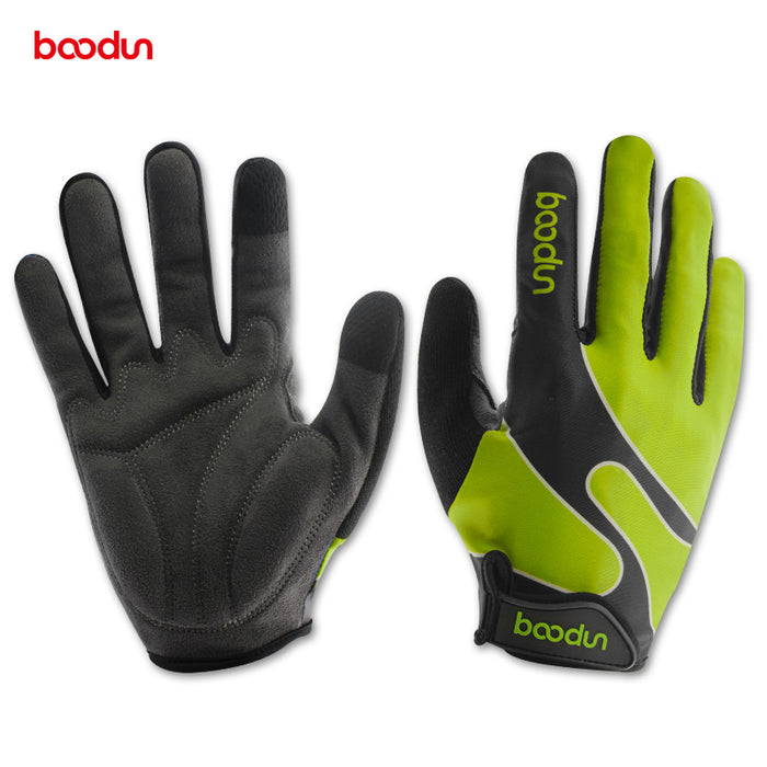 New Arrival Bicycle Gloves Full Finger Lycra Windproof Outdoor Sports Gloves Men Women