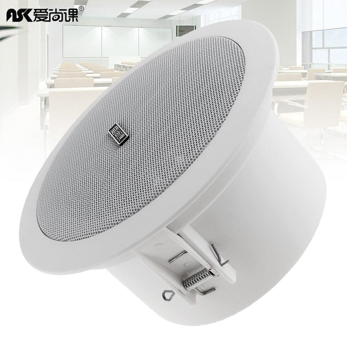 Waterproof Ceiling Speaker Soundbar TV Speakers Home Theater Outdoor Loundspeaker Amplifier