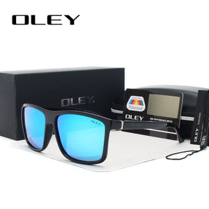 OLEY Brand Vintage Style Sunglasses Men Classic Male Square Glasses Driving Travel Eyewear Unisex Gafas Oculos UV400 Y6625