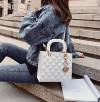 Luxury Brand Tote bag 2019 Fashion New High Quality Patent Leather Women's Designer