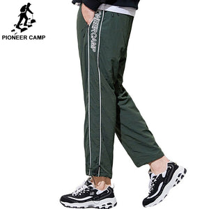 Pioneer camp new casual pants men brand clothing fashion letter embroidered loose trousers male Elastic Waist AXX801314