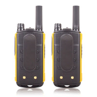 License-free FRS/GMRS Walkie Talkies Long Distance Two Way Radio with Rechargeable Battery 0.5W 22CH VOX LCD Screen Socotran T80