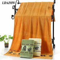 LDAJMW Adult Towel 100% Bamboo charcoal fiber Bath Towel Textile Large Thick Towel Hotel Bathrobe Beach Towel Shawl Toallas