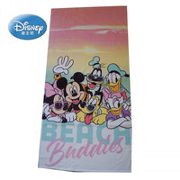 Disney Cartoon Red Minnie Mickey Mouse Frozen  Bath/Pool/Beach Towel Super Soft Absorbent