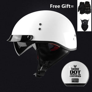 FREE SHIPPING Motorcycle Helmet Scooter Bike Open Face Half Baseball Cap Safety Hard Hat Motocross Helmet Multiple Color Protect