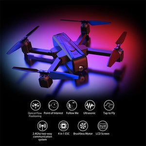 JJRC X11 RC Drone With Camera HD Helicopter 2K WIFI FPV Selfie Dron GPS Quadcopter Professional Optical Flow Positioning Drone