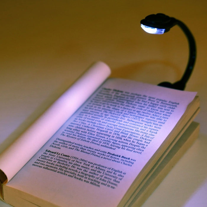 Mini Portable LED Book Reading Light Lamp Flexible USB Novelty Light for Laptop PC Music Stand