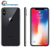 Original Apple iPhone X Face ID 3GB RAM 64GB/256GB ROM 5.8 inch 12MP Hexa Core iOS A11 Dual Back Camera 4G LTE iphonex